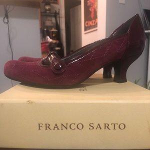 Franco Sarto kitten heel.